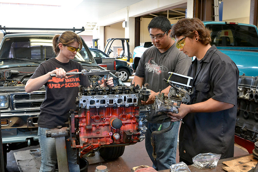 Automotive Mechanics Technology